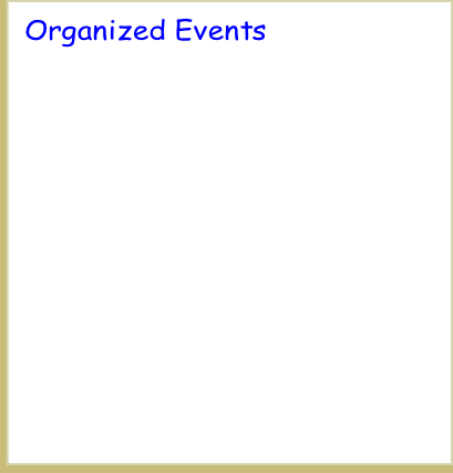 Organized Events